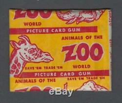 1951 Topps Animals of The World Trading Cards Unopened Pack