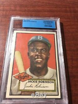 1952 Topps JACKIE ROBINSON Rookie #312. GRADED BVG sweet Rare $$$