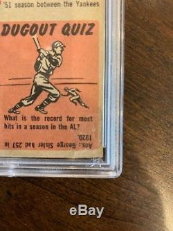 1953 Topps Mickey Mantle #82 No Creases Good Color Nice Card! PSA Authentic