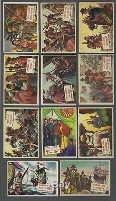 1954 Topps Scoop Trading Cards Complete Set of 156