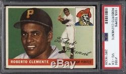 1955 Topps Roberto Clemente RC Rookie #164 HOF PSA 4 Centered