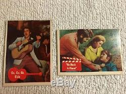 1956 Elvis Presley Bubbles Inc. (Topps) Trading Gum Cards Lot of 24 Cards