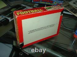 1962 Topps Football Five Cent Trading Cards Display Box Football Bucks