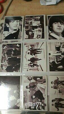 1964 Topps Beatles, A Hard Days Night Movie Trading Cards Complete Set 55 Cards