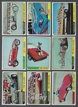 1964 Topps Hot Rods Pink Trading Cards Complete Set of 66