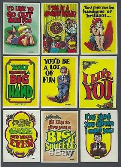 1965 Topps Monster Greeting Cards Trading Cards Near Set of 49/50