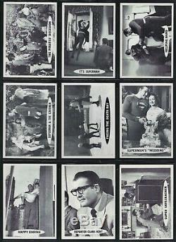 1965 Topps Superman Trading Cards Complete Set of 66 Cards George Reeves