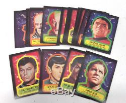 1976 TOPPS Star Trek Complete Trading Card Set of 88 Cards & 22 Stickers- Nice