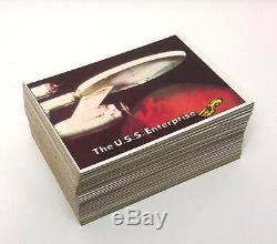 1976 TOPPS Star Trek Complete Trading Card Set of 88 Cards- Excellent