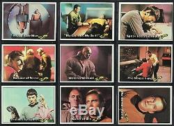1976 Topps Star Trek Complete Trading Card Set 88 Cards 22 Stickers & Wrapper