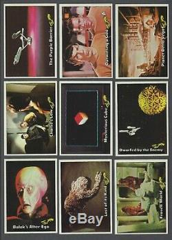 1976 Topps Star Trek Trading Cards Complete Set of 88 + 19/22 Stickers