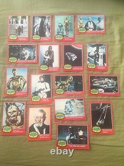 1977 Topps Star Wars Series 2 Trading Cards Set
