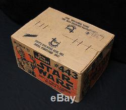 1977 Topps Stars Wars cards sealed 5th Series Wax Box Case. EXTREMELY RARE