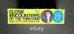 1978 Topps Close Encounters Of The Third Kind Movie Trading Cards Box 36 Packs