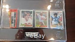 1981 Topps Rack with Joe Montana & Dwight Clark RC Showing ON TOP! The CATCH PACK