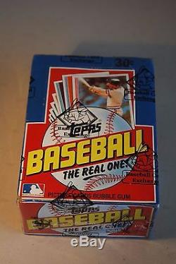 1982 Topps Baseball Wax Box 36 Packs Mint Unopened BBCE Wrapped Authentic PSA