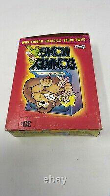 1982 Topps Donkey Kong Trading Cards Full Clean Box Video Game, sealed packs