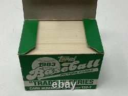 1983 Topps Baseball TRADED Update Set With Darryl Strawberry SGC 10 rookie card