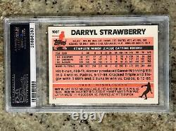 1983 Topps Traded Darryl Strawberry Rookie Card RC #108T PSA 10 GEM MINT Mets