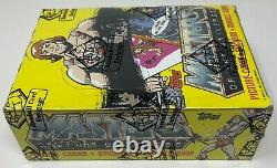 1984 MASTERS OF THE UNIVERSE Topps Trading Card BOX He-Man 36 PACKS Sealed BBCE
