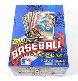 1984 Topps Baseball Box BBCE Wrapped From A Sealed Case FASC