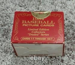 1984 Topps Traded TIFFANY Set 132 Cards UNOPENED Sealed 1ST YEAR TIFFANY TRADED