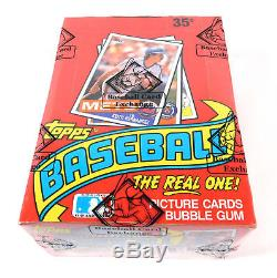 1985 Topps Baseball Box BBCE Sealed 36 Packs FASC From A Sealed Case