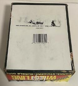 1987 Topps WWF WRESTLING Featuring Wrestle Mania III Trading Cards Box 36 Packs