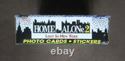 1992 Topps Home Alone 2 Lost in New York Trading Cards Box 36 Sealed Packs