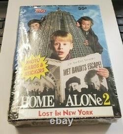 1992 Topps Home Alone 2 Lost in New York Trading Cards Sealed Box 36 Packs