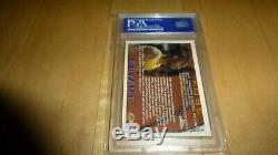 1996 Topps Chrome REFRACTOR 138 Kobe Bryant PSA 9 MINT Rookie Card RC LAKERS