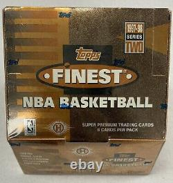 1997 1997-98 Topps Finest Basketball Series 2 Factory Sealed Hobby Box Duncan RC