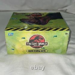 1997 The Lost World Jurassic Park Trading Cards Sealed Box Topps