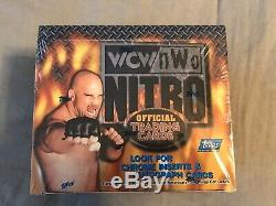 1999 Topps WCW / NWO NITRO Wrestling Sealed Trading Cards box