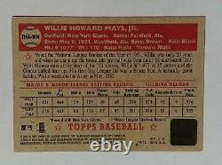 2001 Topps Heritage Real One Autograph 1952 RC Willie Mays Auto New York Giants