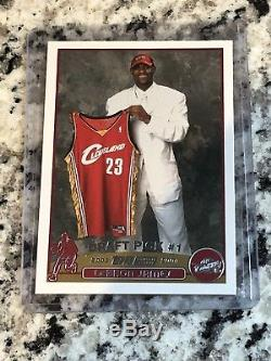 2003 04 Lebron James Topps Rookie Card 221