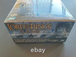 2003 Topps Lord of the Rings Return of the King Trading Card Sealed Hobby Box