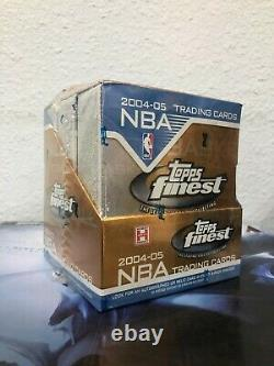 2004-05 TOPPS Finest NBA Basketball Trading Cards BOX NEWithSEALED