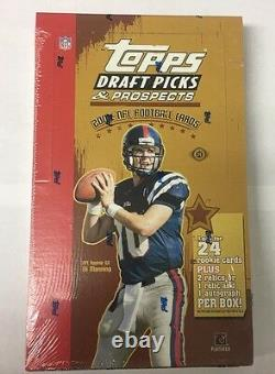 2004 Topps Draft Picks and Prospects Football Hobby Box Factory Sealed 24 Pack