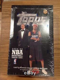 2005-06 Topps NBA Trading Cards / JAY-Z & Allen Iverson cover / factory sealed