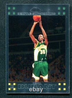 2007-08 Topps Chrome KEVIN DURANT Rookie RC Supersonics #131