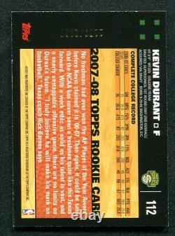 2007-08 Topps Gold KEVIN DURANT Rookie RC Supersonics #112 1179/2007