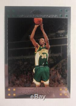 2007 2008 Topps Chrome Kevin Durant Seattle Supersonics #131 Basketball Card