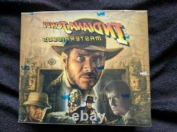 2008 Topps Indiana Jones Masterpieces Sealed Hobby Box Trading Cards Last One
