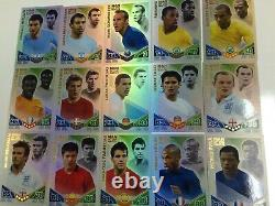 2010 Topps Match Attax World Stars Trading Card Factory Case(12 Boxes)-World Cup