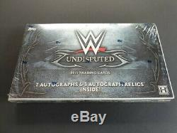 2015 TOPPS WWE Wrestling Undisputed Trading Cards HOBBY Box 10 Packs 10 Auto