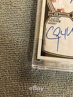 2017 Topps Museum Collection MIKE TROUT/CLAYTON KERSHAW DUAL AUTO 14/15
