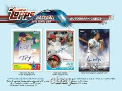 2018 Topps Baseball Series 2 Blaster Box Exclusive PATCH Possible AUTOS Acuna