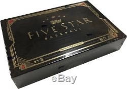 2018 Topps Five Star Hobby Baseball Factory Sealed Unopened Box 2 Autographs