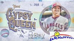 2018 Topps Gypsy Queen Baseball Factory Sealed HOBBY Box-2 AUTOGRAPH+Box Topper